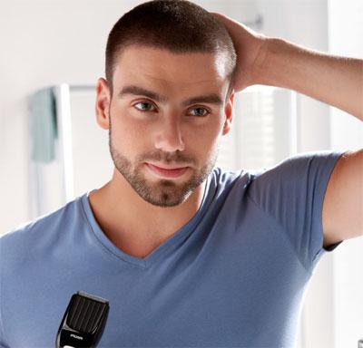 coupe de cheveux homme 9mm