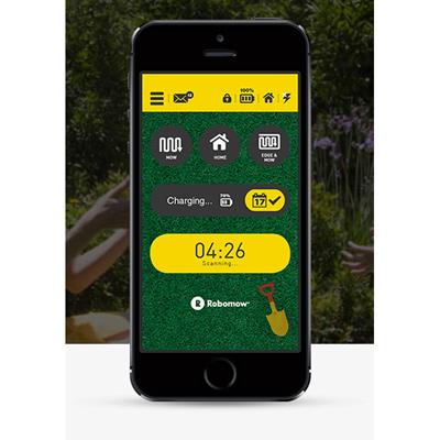Robomow app