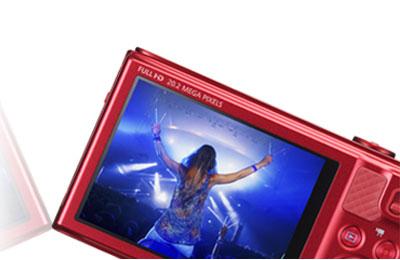 Canon powershot sx610 hs rouge 0113c002 achat vente for Mp4 qui fait appareil photo