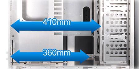 Le boîtier Lian Li PC-D8000 dispose d'un si grand espace intérieur