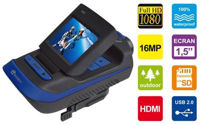Heden cam ra multi usage camhedfhd1 achat vente cam ra sportive sur ldl - Dip etanche multi usage ...
