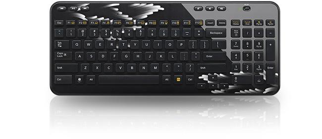 Logitech Wireless Keyboard K360 Coral Fan LDLCPRO