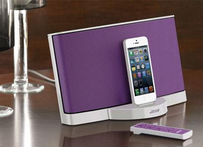 bose sounddock iii violet sounddock iii violet achat. Black Bedroom Furniture Sets. Home Design Ideas