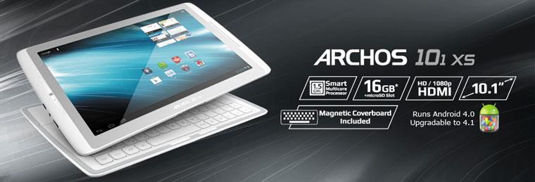 archos 101 xs 16 go 502124 achat vente tablette tactile sur. Black Bedroom Furniture Sets. Home Design Ideas