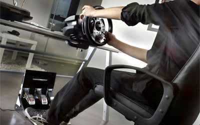 thrustmaster t500 rs t500rs th8 add on shifter wheel. Black Bedroom Furniture Sets. Home Design Ideas