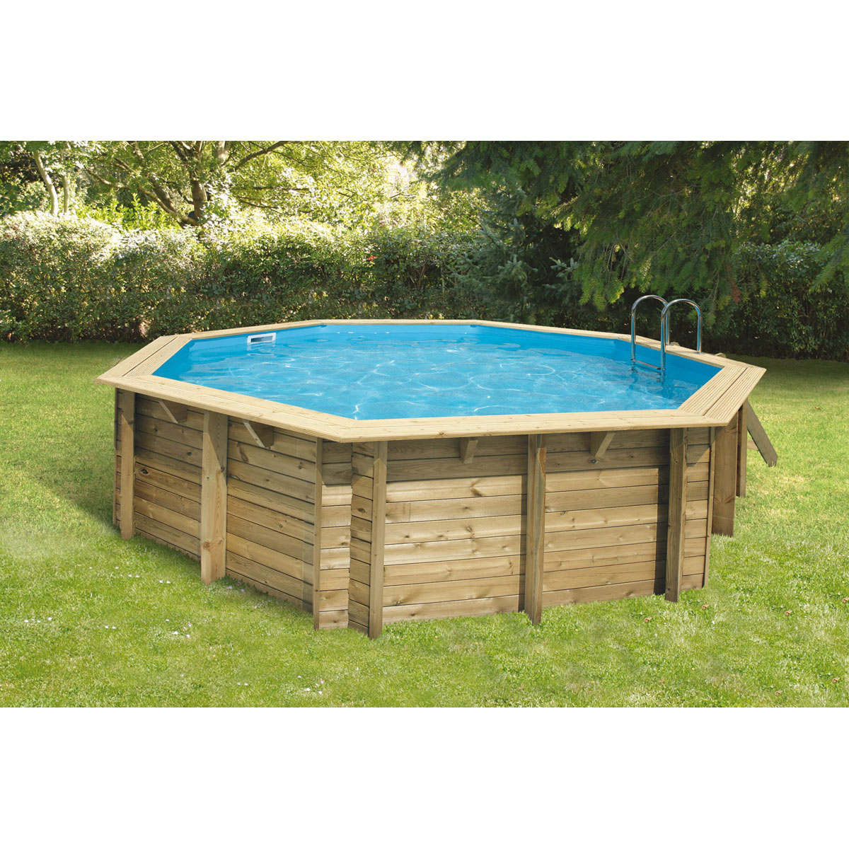 guide choisir sa piscine hors sol les piscines en bois les piscines autoportantes les. Black Bedroom Furniture Sets. Home Design Ideas