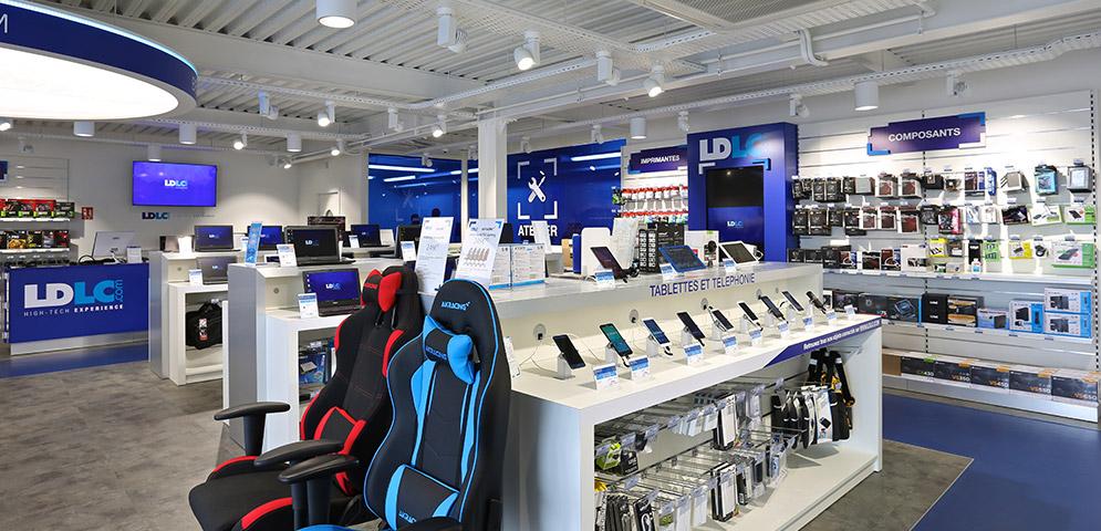 boutique ldlc clermont ferrand magasin informatique r paration et d pannage ordinateur. Black Bedroom Furniture Sets. Home Design Ideas