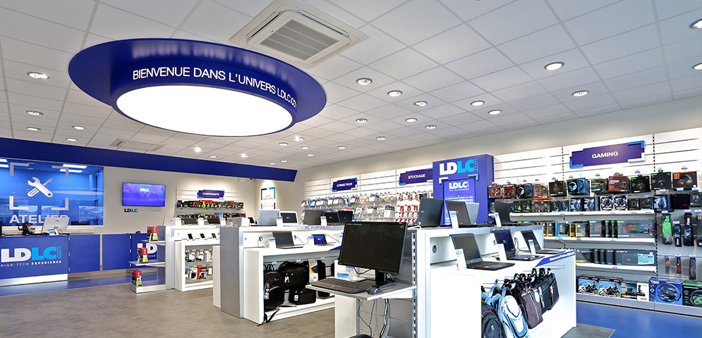Magasin informatique LESCAR