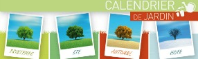 Calendrier jardin