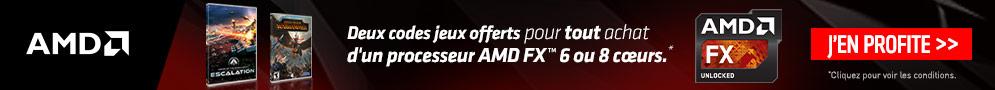 Jusqu'au 10 juin, AMD offre 2 jeux PC pour l'achat d'un produit éligible
