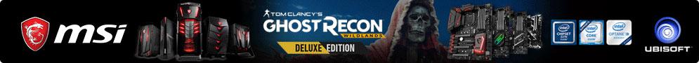 Jusqu'au 26 juin MSI offre le jeu Tom Clancy's Ghost Recon: Wildlands Deluxe Edition pour l'achat d'un produit éligible