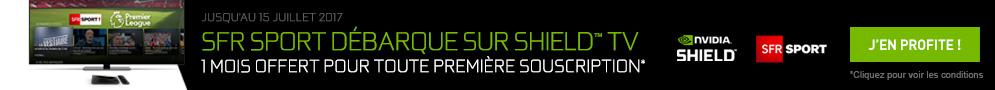 Jusqu'au 15 juillet, NVIDIA offre 1 mois d'abonnement à SFR Sport 100% Digital pour l'achat d'un produit éligible