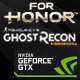 For Honor ou Ghost Recon offert