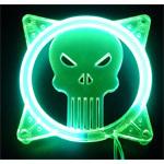Achat Grille ventilateur PC Grille éclairée U.V. Monstre pour ventilateur 80 mm (vert)