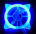 Achat Grille ventilateur PC Grile 80mm éclairée U.V. COUNTER-STRIKE Bleu