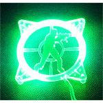 Achat Grille ventilateur PC Grille éclairée U.V. Counter-Strike pour ventilateur 80 mm (vert)