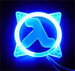 Achat Grille ventilateur PC Grile 80mm éclairée U.V. HALF LIFE Bleu