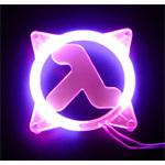 Achat Grille ventilateur PC Grille éclairée U.V. Half-Life pour ventilateur 80mm (rouge)