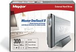 Achat Disque dur externe Maxtor Personal Storage OneTouch II 300 Go 7200 tpm 16 Mo (USB 2.0/FireWire 400)