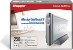 Achat Disque dur externe Maxtor Personal Storage OneTouch II 250 Go 7200 tpm 16 Mo (USB 2.0/FireWire 400) obso