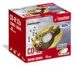 Achat CD Imation CD-R 80mn 700 Mo Certifié 50x Compatible LightScribe (pack de 10)