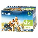 Achat Cassette caméscope Maxell DVM 60 P5