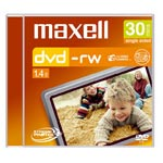 Achat LDLC.com Maxell DVD-RW 8 cm 1,4 Go 30 mn (pour camescope DVD) - Pack de 5