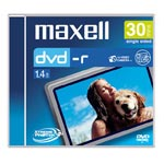 Achat DVD Maxell DVD-R 8 cm 1,4 Go 30 mn (pour camescope DVD) - Pack de 5