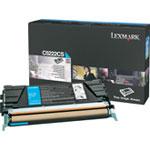 Achat Toner imprimante Lexmark C5222CS - Toner Cyan Standard (3000 pages à 5%)