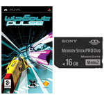 Achat Carte mémoire Sony Memory Stick PRO Duo 16 Go + WipEout Pulse