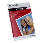 Achat Papier imprimante Lexmark 0021G0708 - Papier photo 190 g/m (A4, 50 feuilles)