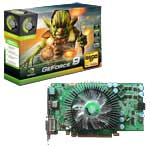 Voir la fiche produit Point of View GeForce 9600 GT - 1 Go