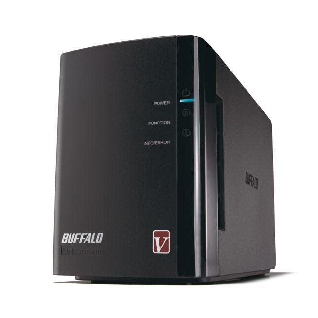 Serveur NAS Buffalo LinkStation Pro Duo 2 To Serveur NAS multimedia DLNA