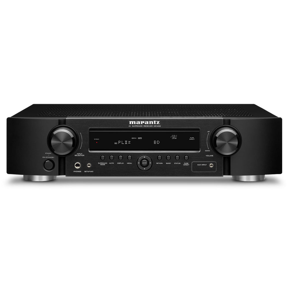 marantz nr1402 noir ampli home cin ma marantz sur ldlc. Black Bedroom Furniture Sets. Home Design Ideas