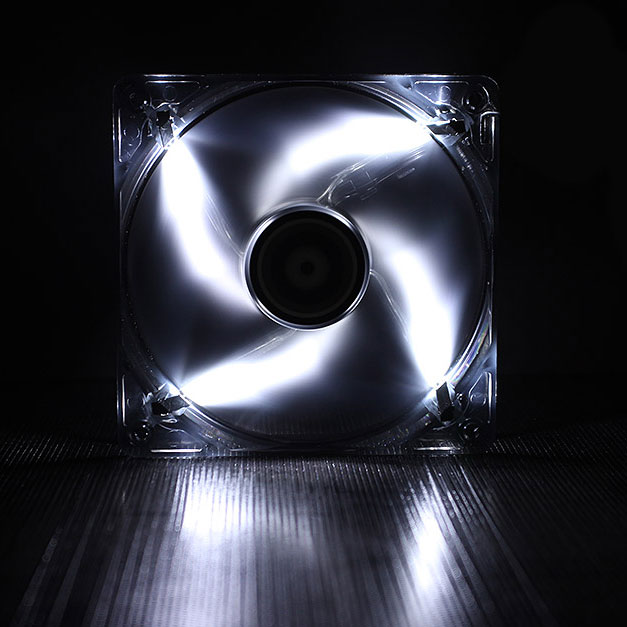 Ventilateur boîtier BitFenix Spectre LED Blanc 120 mm BitFenix Spectre LED 120 mm Blanc - Ventilateur LED 120 mm