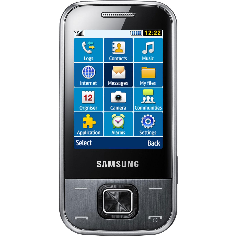 Mobile & smartphone Samsung C3750 Gris Téléphone 2G