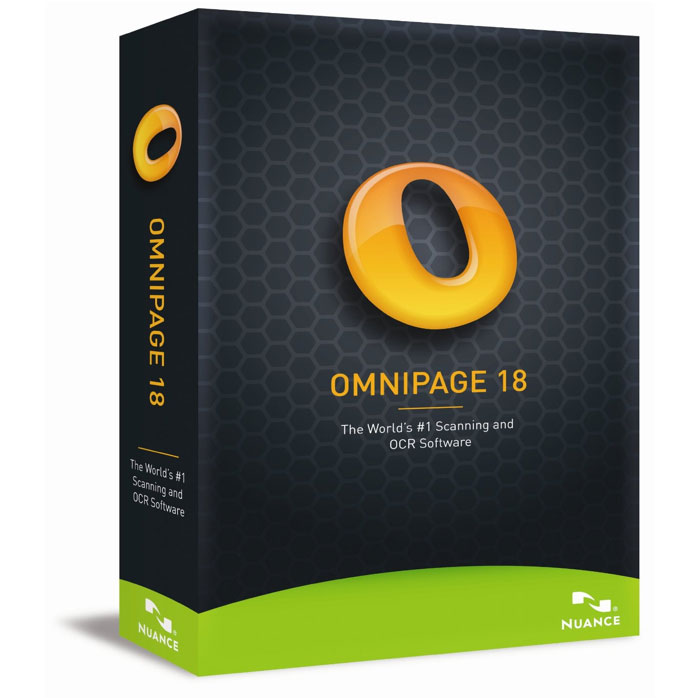 Logiciel OCR Nuance OmniPage 18 Nuance OmniPage 18 (français, WINDOWS)