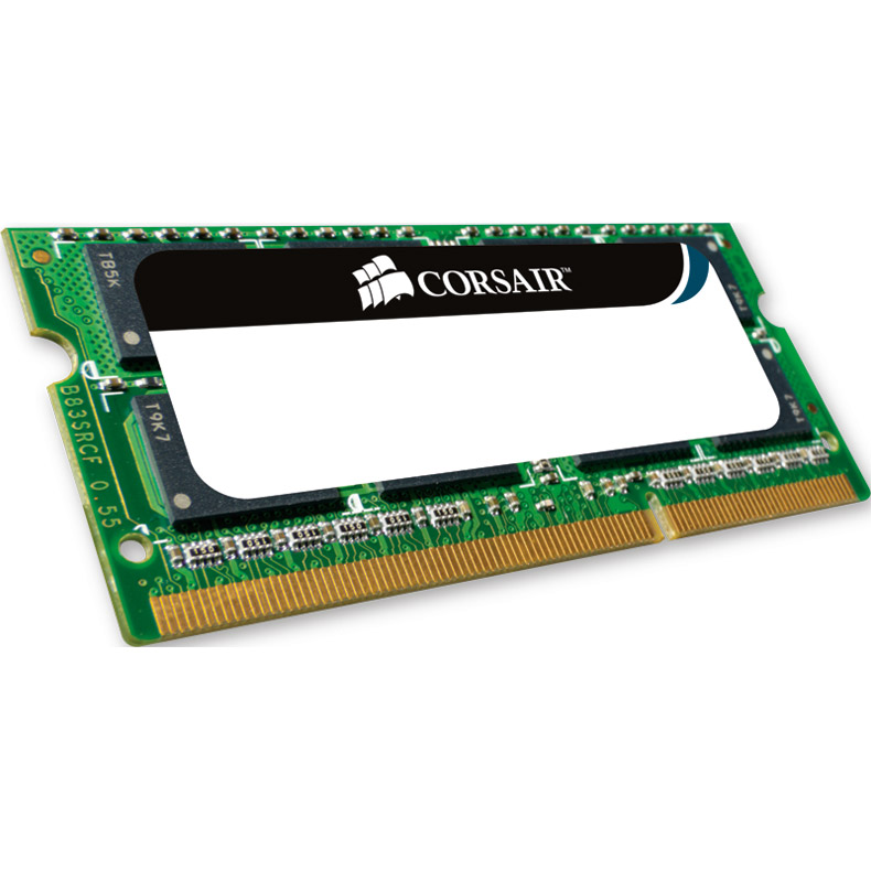 Mémoire PC portable Corsair Mac Memory SO-DIMM 4 Go DDR3 1066 MHz CL7 RAM SO-DIMM DDR3 PC8500 pour Mac - CMSA4GX3M1A1066C7 (garantie 10 ans par Corsair)