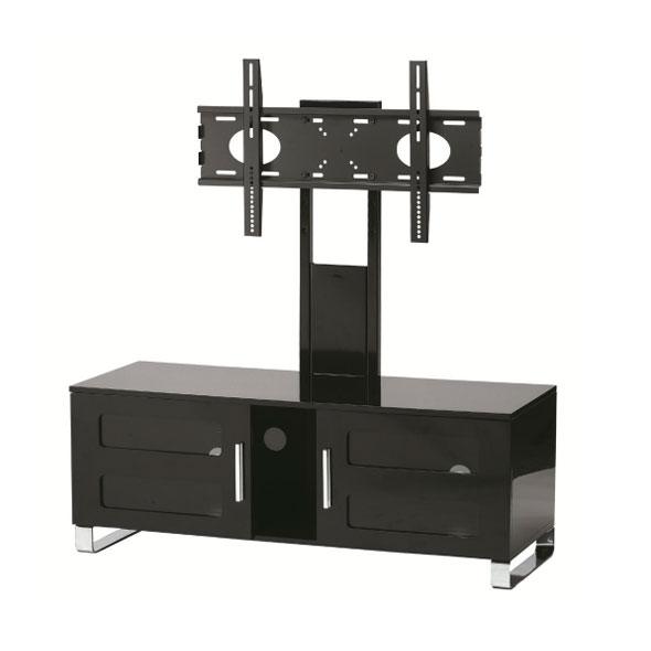 Stilexo stuk2061bl meuble tv stilexo sur ldlc for Meuble tv colonne