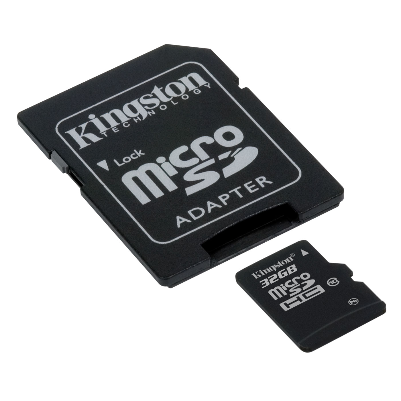 kingston microsdhc 32 go class 10 adaptateur sdhc sdc10 32gb achat vente carte m moire. Black Bedroom Furniture Sets. Home Design Ideas
