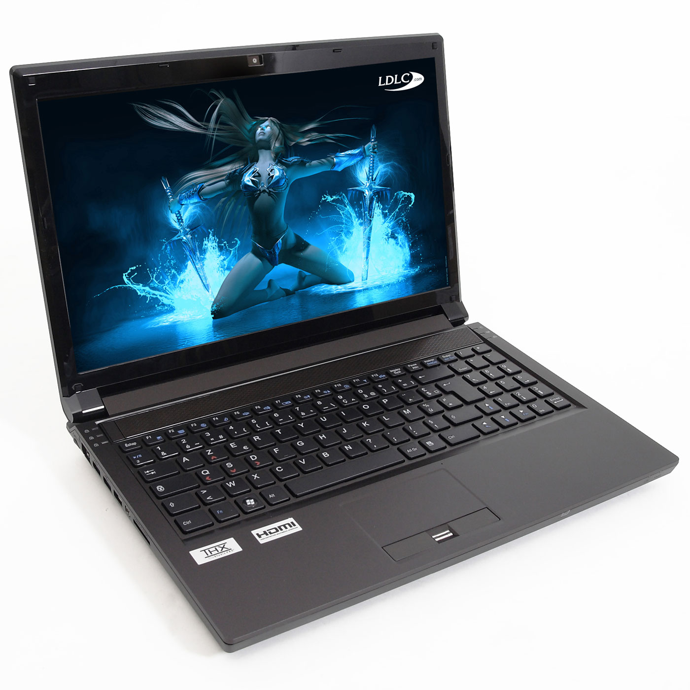 "PC portable LDLC Bellone GA1-I7-16-S2 Intel Core i7-2630QM 16 Go SSD 256 Go 15.6"" LED NVIDIA GeForce GTX 560M Graveur DVD Wi-Fi N/Bluetooth Webcam (sans OS)"