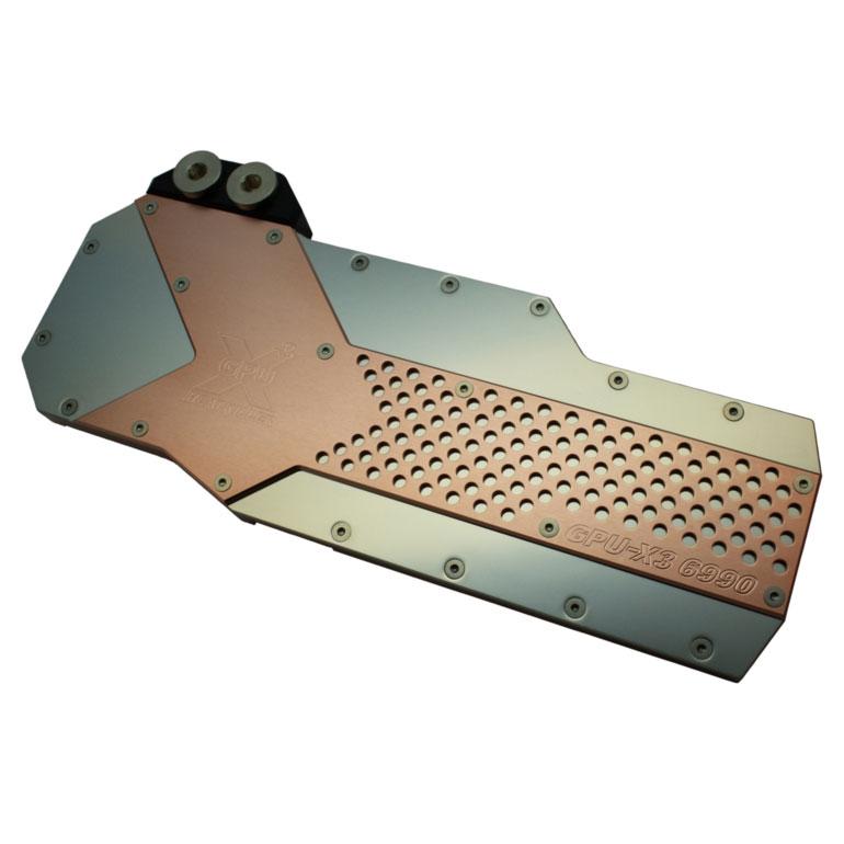 "Watercooling Watercool Heatkiller GPU-X³ 6990 ""Hole Edition"" Waterblock pour carte graphique (AMD Radeon HD 6990)"