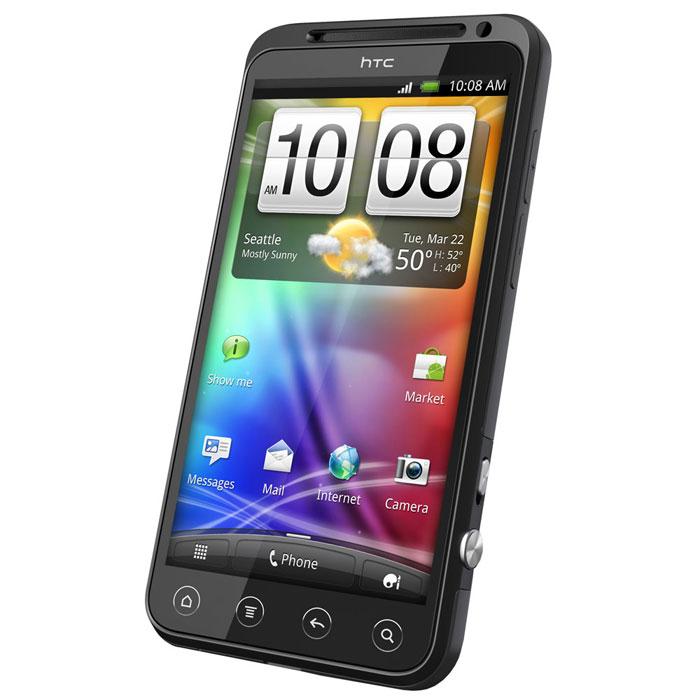 """Mobile & smartphone HTC EVO 3D Smartphone 3G+ avec écran tactile 3D 4.3"""" sous Android"""