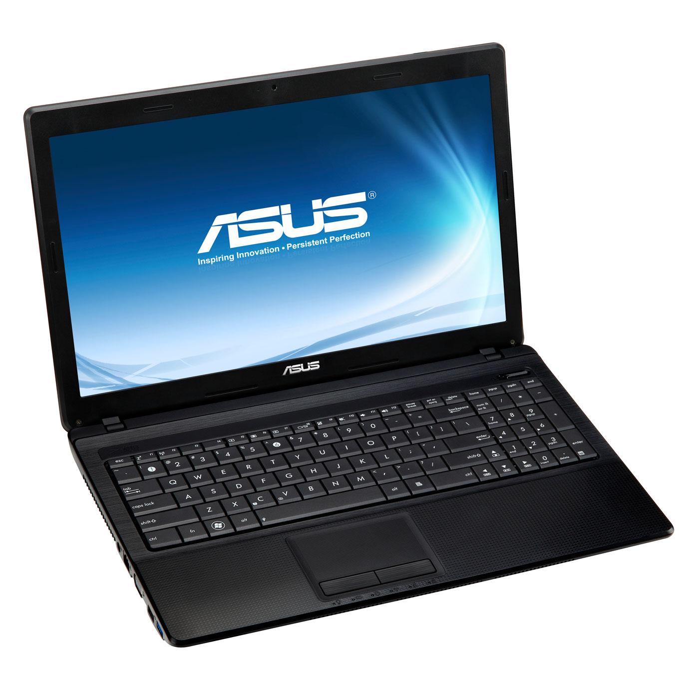 """PC portable ASUS X54C-SX102V Intel Pentium Dual-Core B960 4 Go 320 Go 15.6"""" LED Graveur DVD Wi-Fi N Webcam Windows 7 Premium 64 bits (garantie constructeur 1 an)"""
