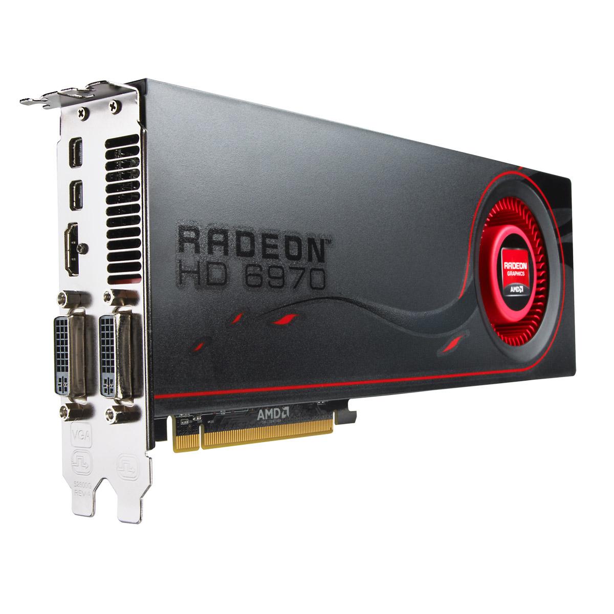 Carte graphique AMD Radeon HD 6970 2 GB 2 Go HDMI/Dual DVI/Dual Mini DisplayPort - PCI Express