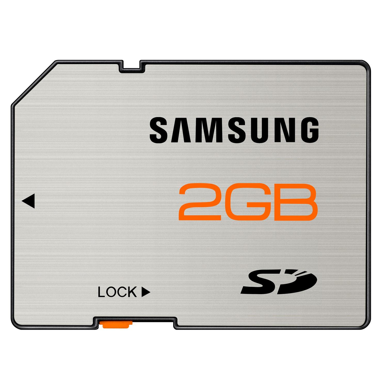 Carte mémoire Samsung SD 2 Go - Carte mémoire classe 4 étanche et insensible aux aimants Samsung SD 2 Go - Carte mémoire classe 4 étanche et insensible aux aimants
