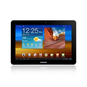 """Tablette tactile Samsung Galaxy Tab GT-P7510 16 Go Tablette Internet à écran tactile 10.1"""" sous Android 3.1"""
