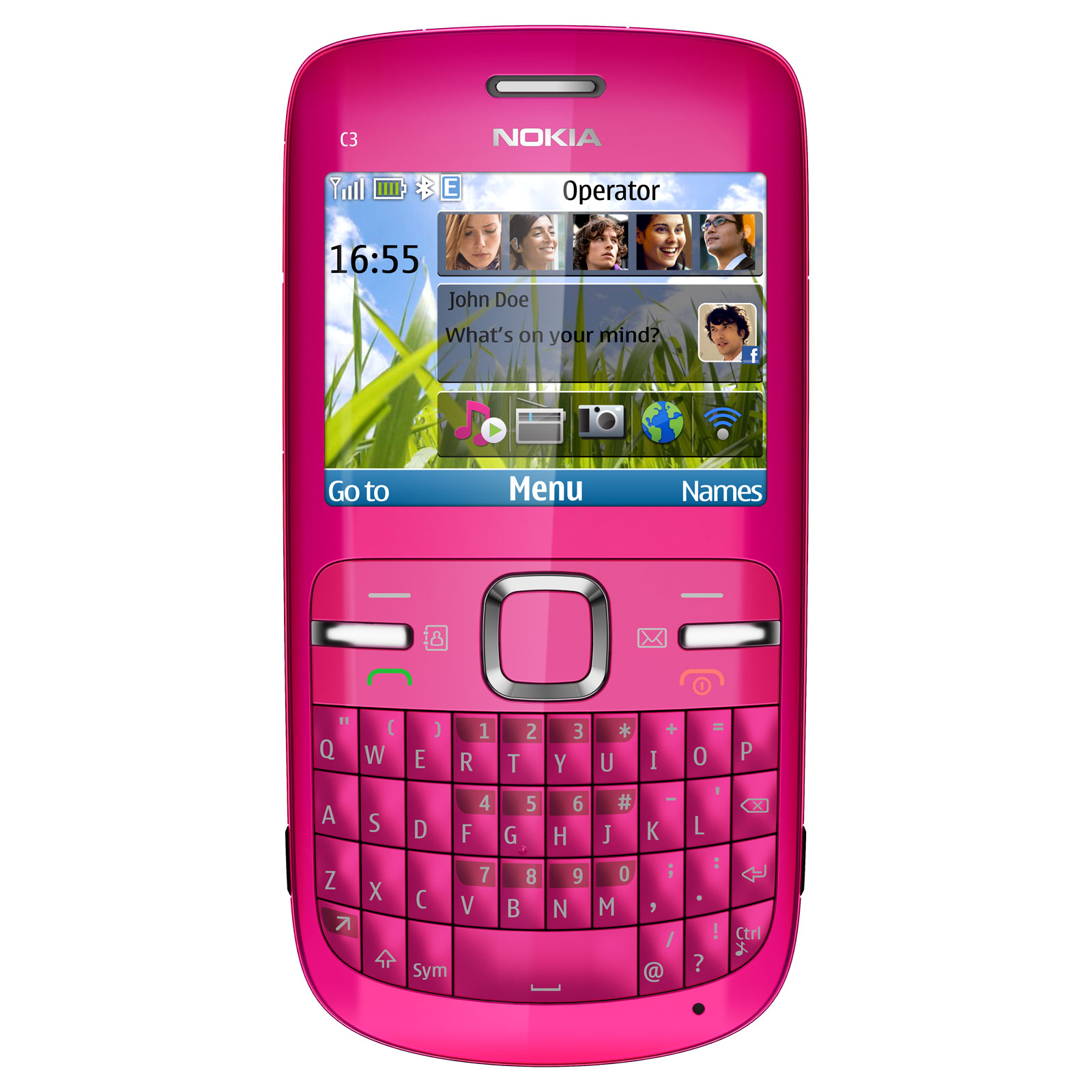 nokia c3 00 rose mobile smartphone nokia sur ldlc. Black Bedroom Furniture Sets. Home Design Ideas