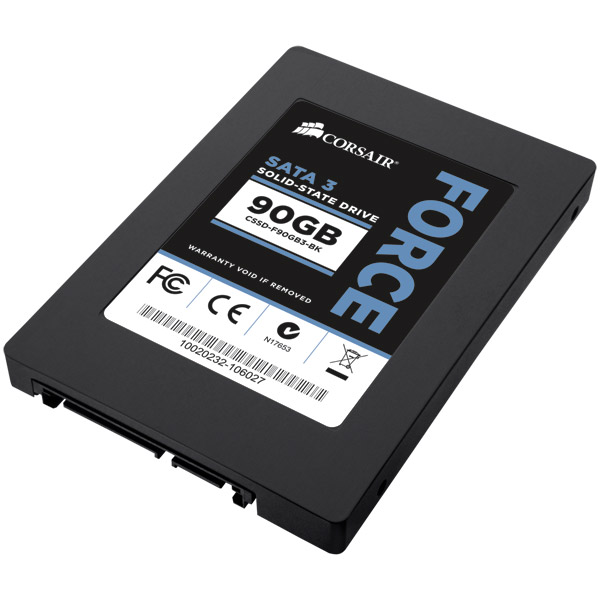 "Disque SSD Corsair Force Series 3 90 Go SSD 90 Go 2.5"" Serial ATA 6Gb/s"