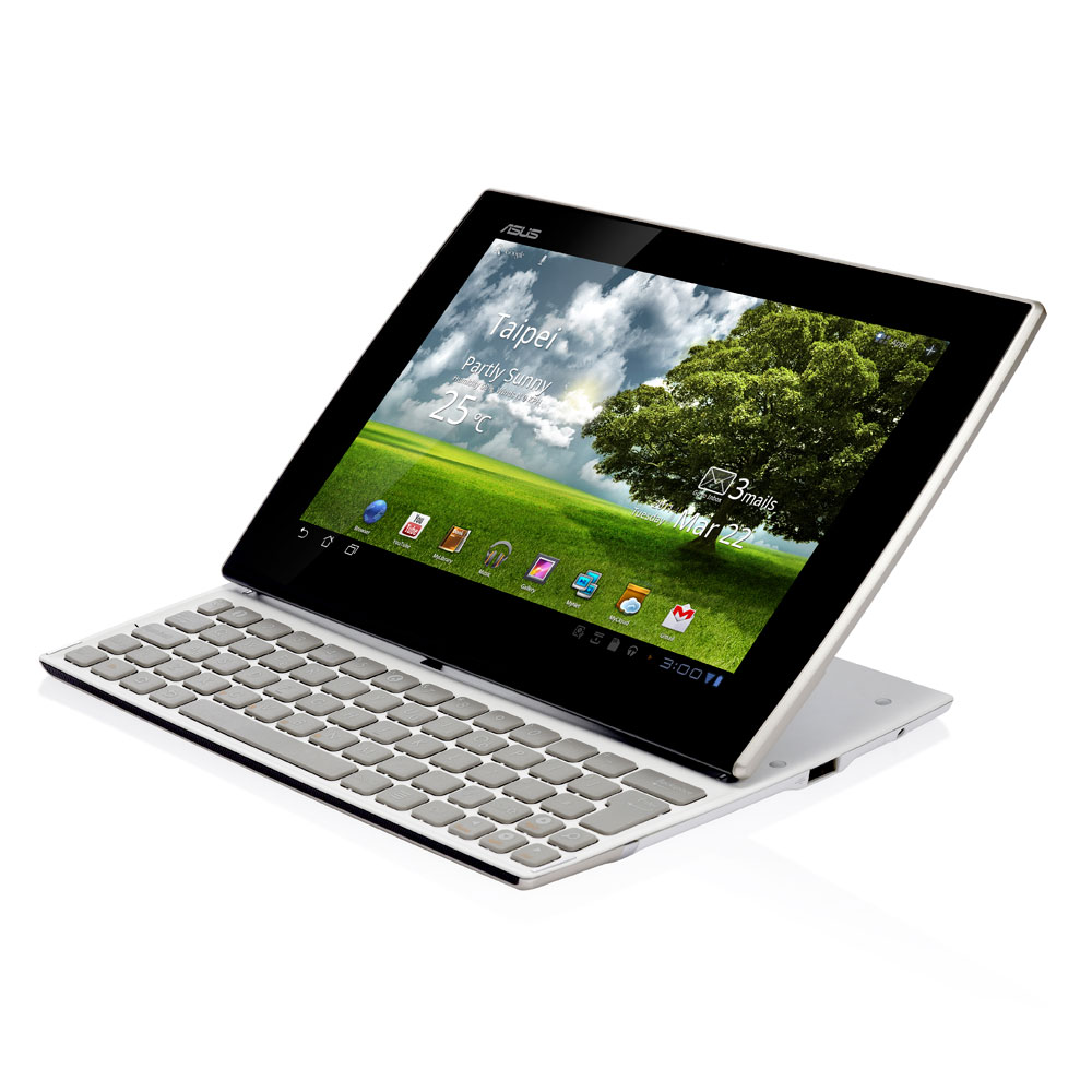 asus eee pad slider sl101 32 go blanc tablette tactile. Black Bedroom Furniture Sets. Home Design Ideas